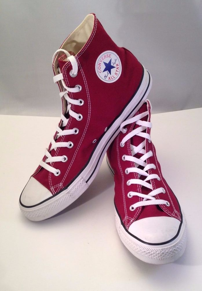 d88f98e5836c NEW AWESOME RED CONVERSE ALL STAR CHUCK TAYLOR HIGH TOP SHOES MENS SIZE 13   Converse  BasketballShoes