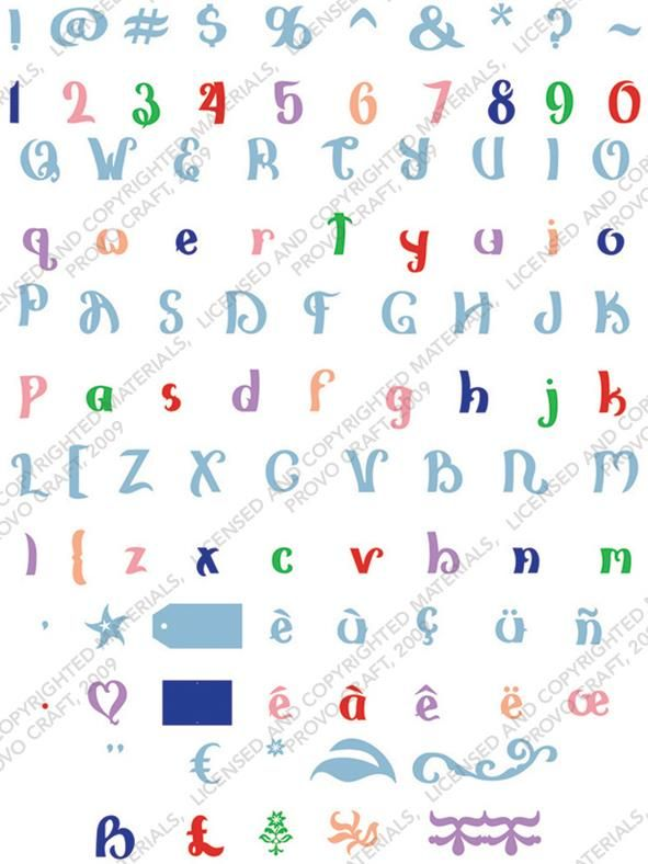 cricut | Categories: Cricut Cartridges , Font - Tags: Ashlyn's