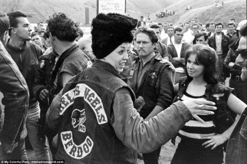 Pin on Hells Angel women  Sonny Barger Hells Angels 1970