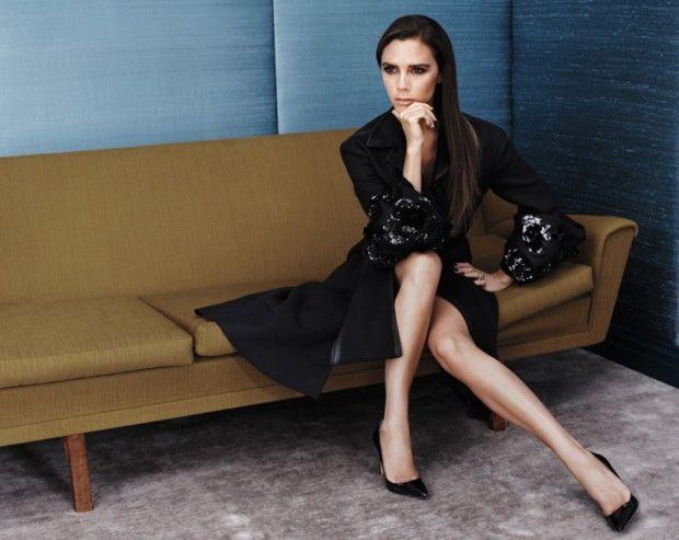 nice Victoria Beckham para Vogue China Agosto 2013 por Josh Olins  [Editorial]
