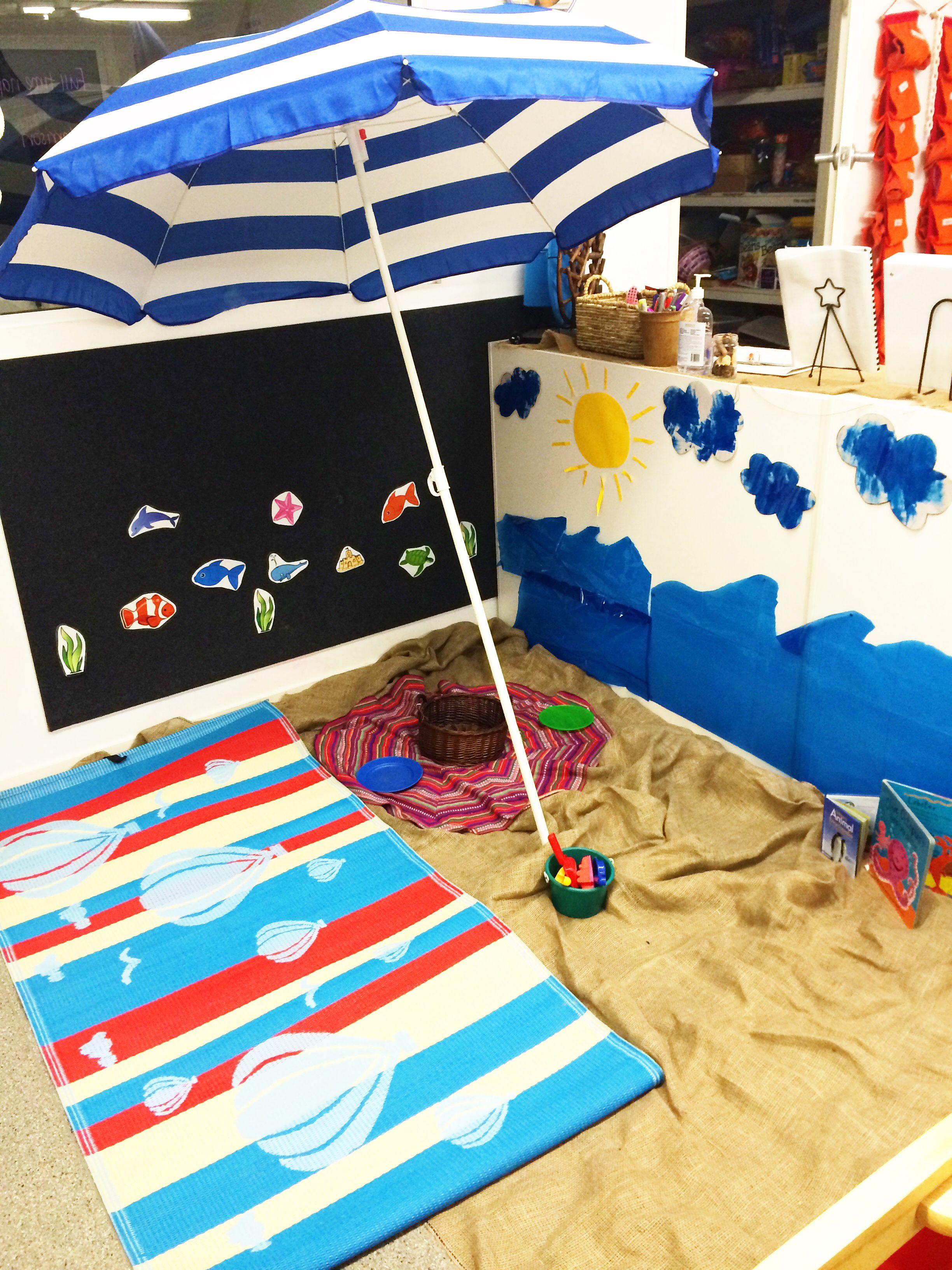 Beach Theme Area At Preschool