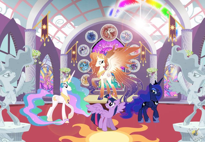 Royal Family By Shoujo Jojo Deviantart Com On Deviantart Mlp
