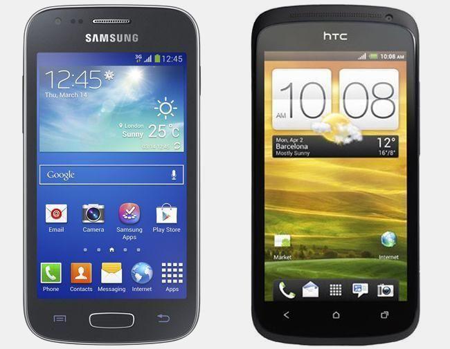 Vergelijking Samsung Galaxy Ace 3 vs HTC One S | Versus OS