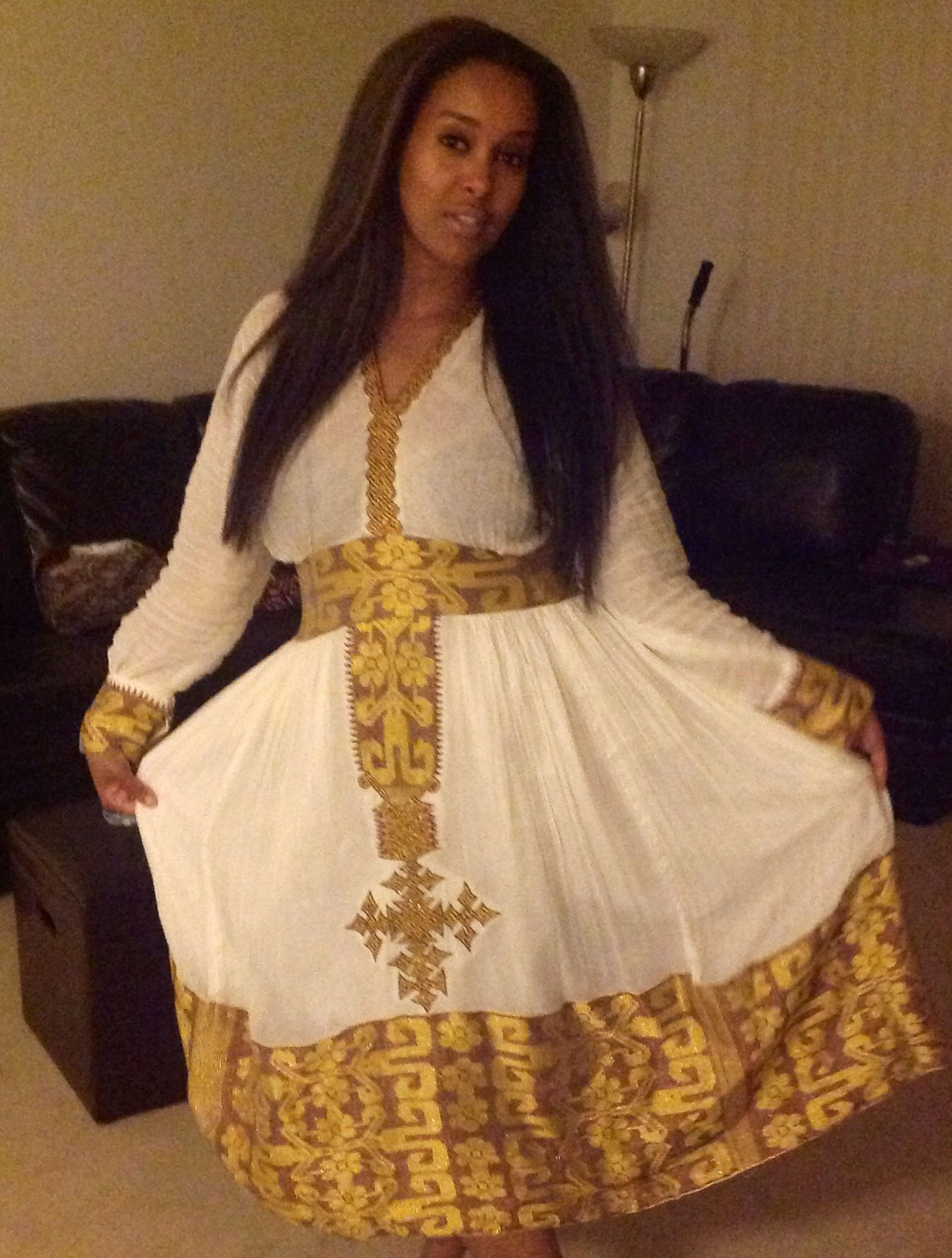 Eritrean dress african beauty pinterest eritrean for Ethiopian traditional wedding dress designer