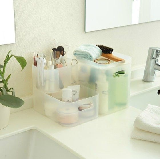 Photo of US $22.16 |Bathroom dresser cosmetic pp box cosmetics cascading storage box muji high quality|box nail|box powderbox – AliExpress