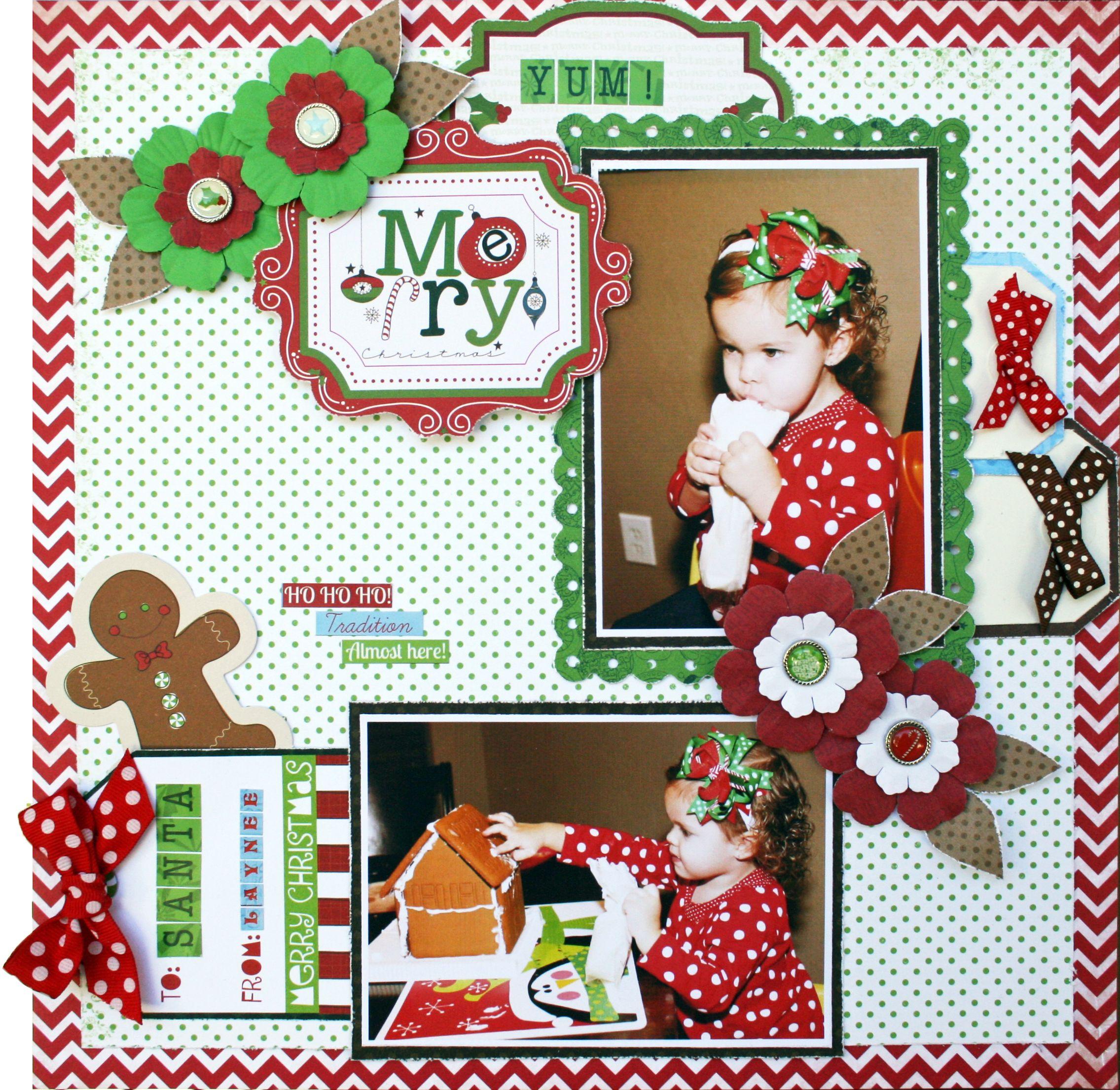 Merry!  **Bo Bunny** - Scrapbook.com
