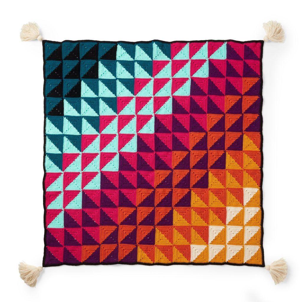 90 Free Geometric Crochet And Knit Patterns