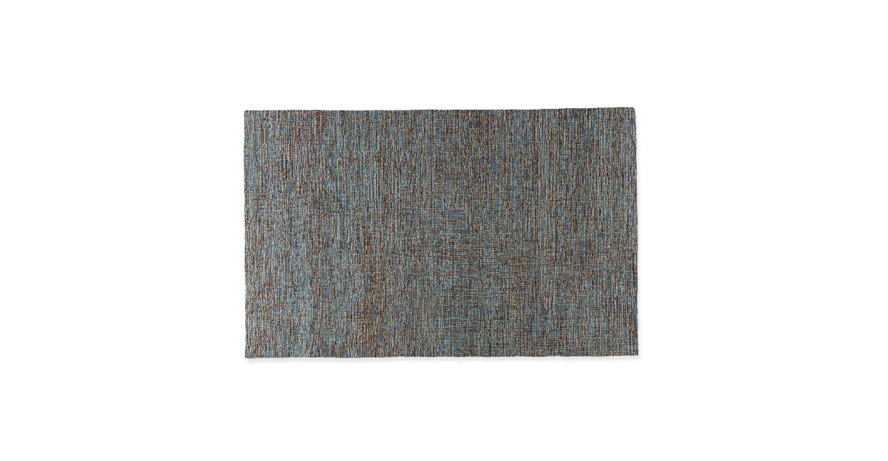 Loopi tidepool blue rug x remodeling living room ideas