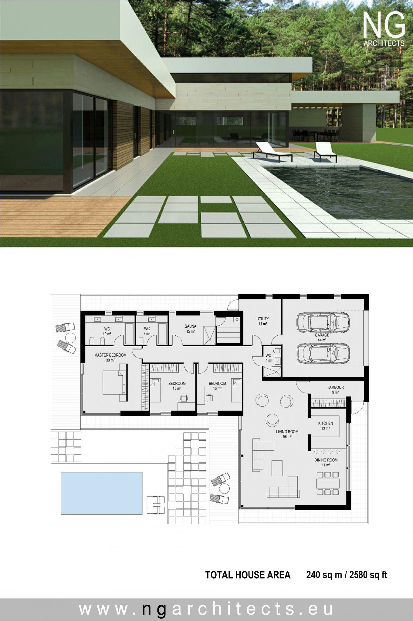 Modern House Designs And Floor Plans Modern Architecture House Modern Villa Design Modern House Exterior