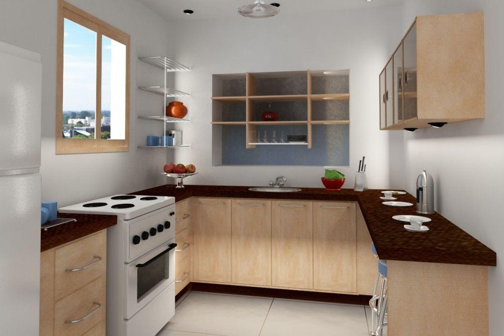 10X10 Kitchen Floor Plans | Small kitchen decor, Kitchen ...