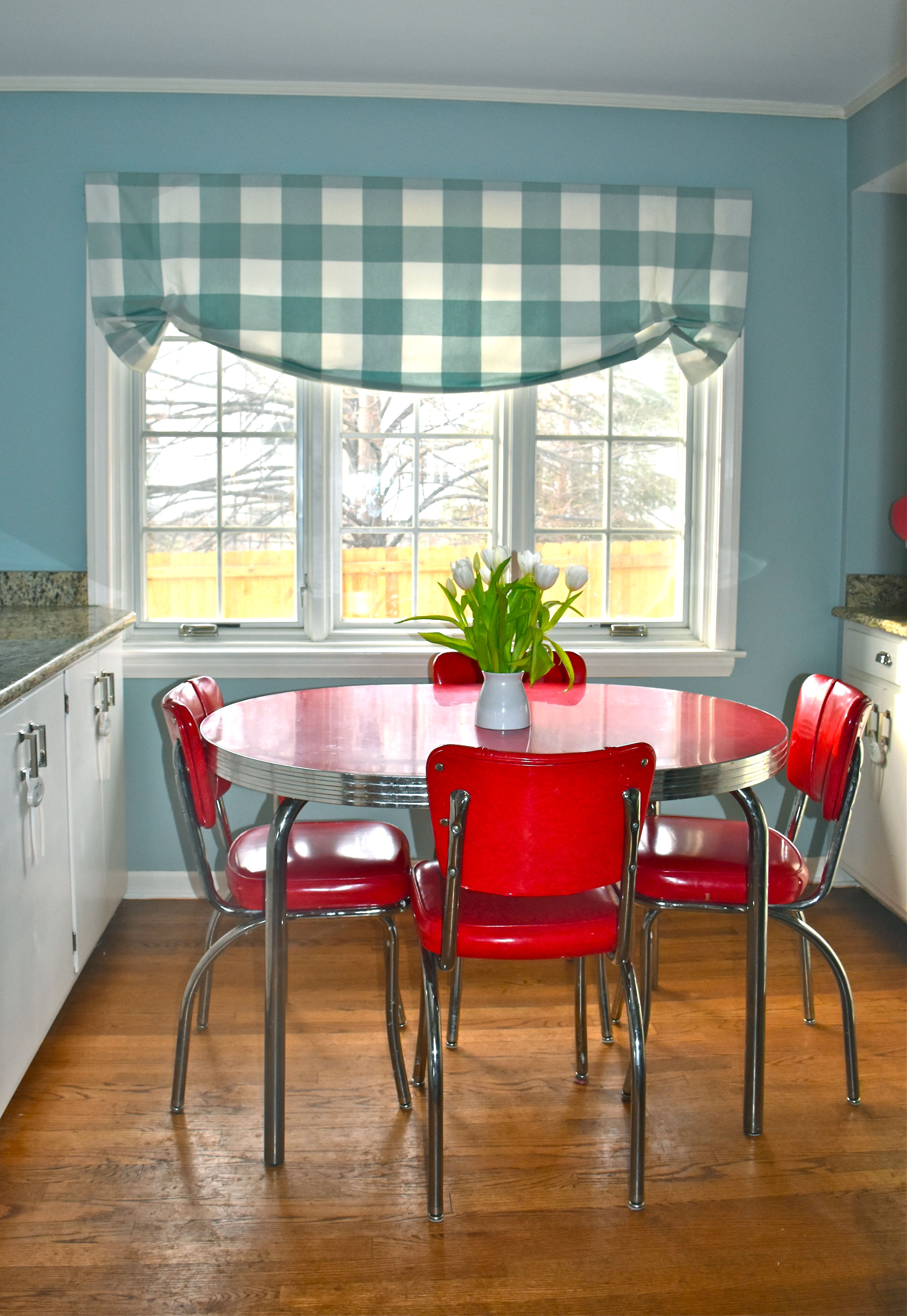 Retro Inspired Kitchen Cherry Red Dinette Set Dinette Set Buffalo