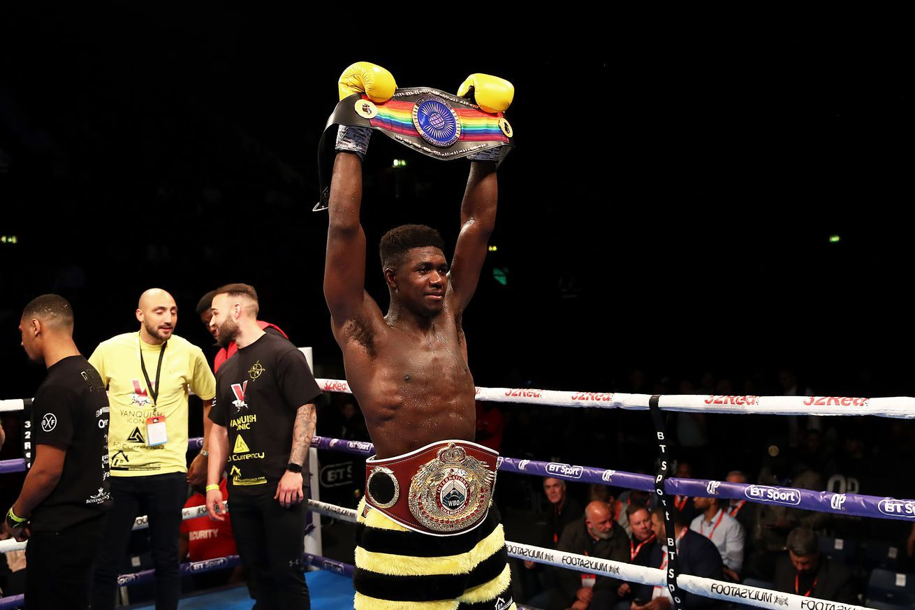 Warren announces trio of British title fights from BT