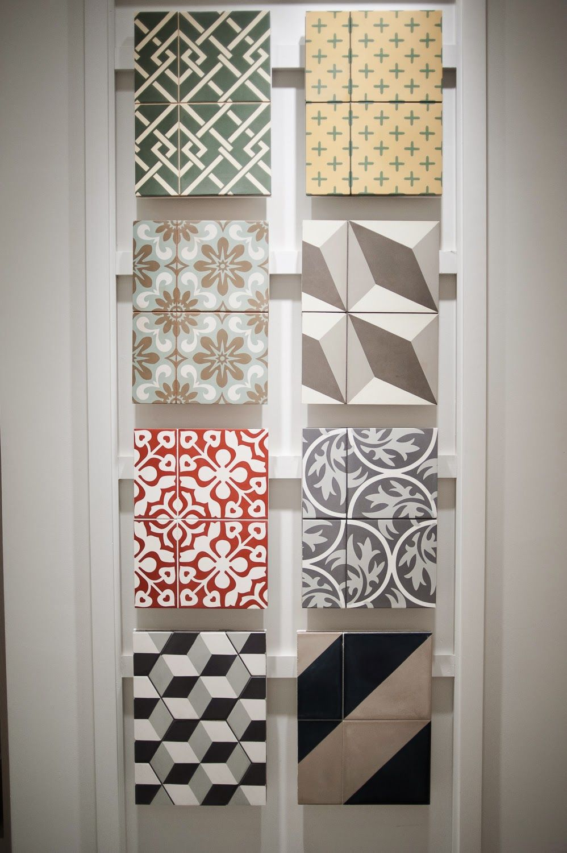 Waterworks dallas showroom tile board suburban chic in 2019 - Bathroom design showroom dallas tx ...