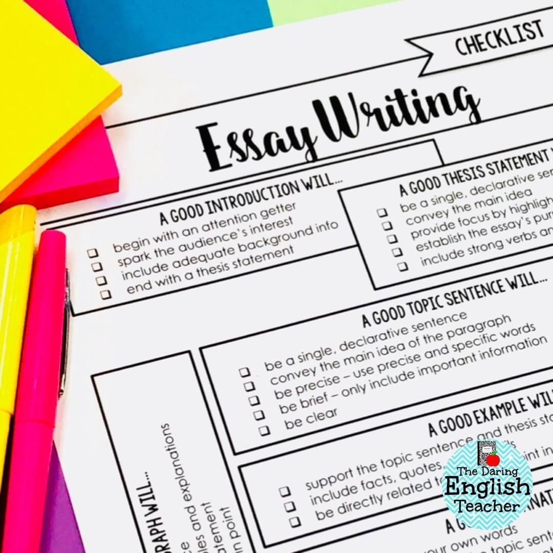 Strategic Management Essay  High School Years Essay also Report Style Essay If You Teach Middle School Or High School English Youll  Advanced English Essay