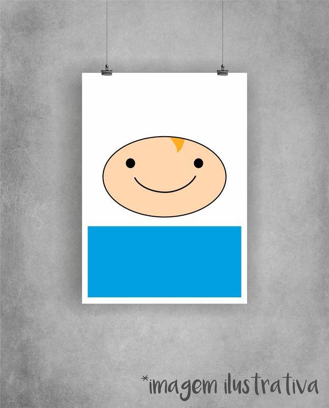Poster Finn - Hora de Aventura