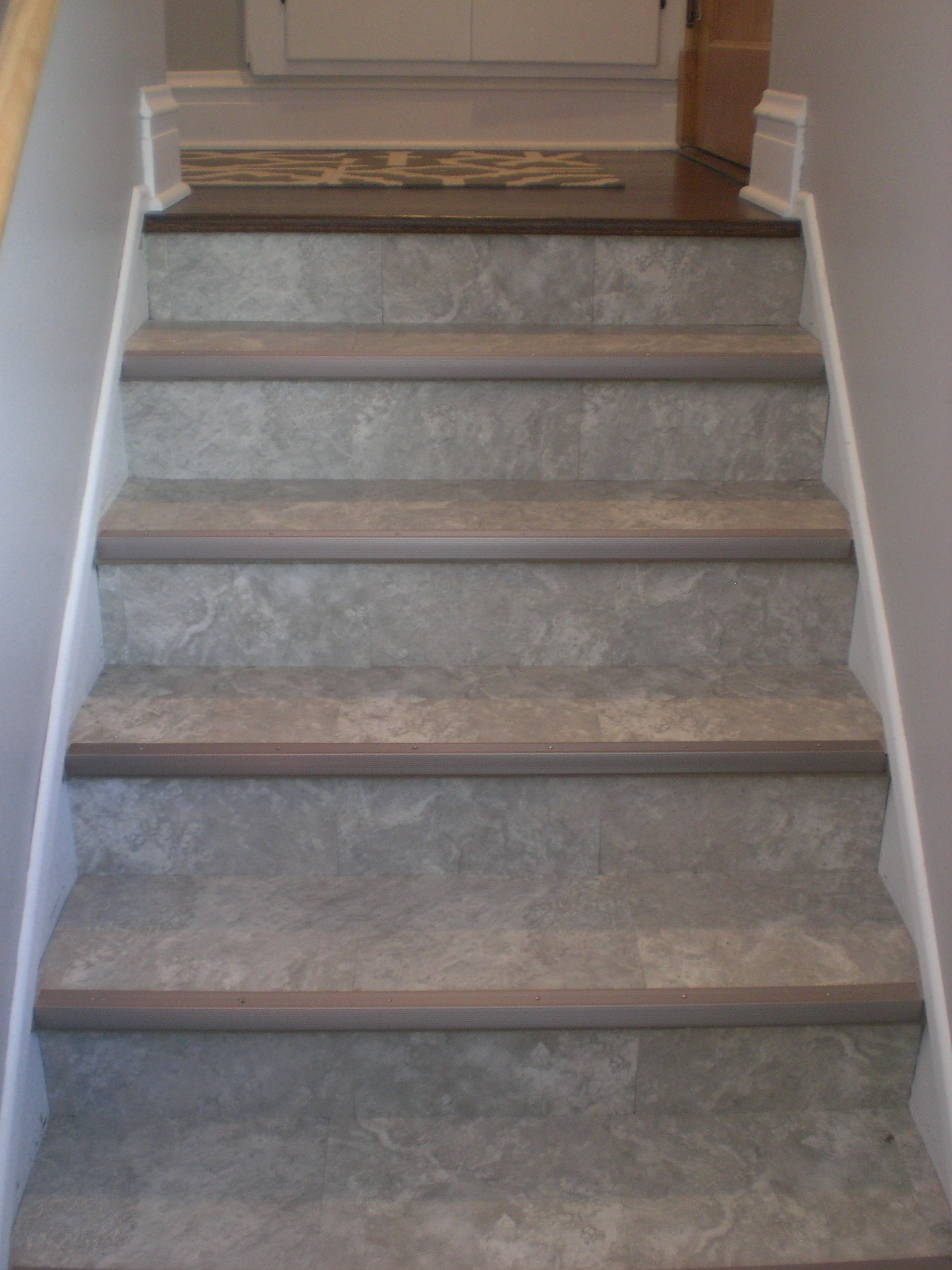 linoleum on stairs google search home stuff pinterest basements sell house and mud rooms. Black Bedroom Furniture Sets. Home Design Ideas