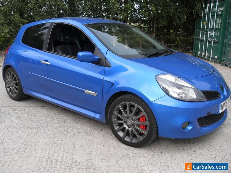 2018 renault clio sport. brilliant renault 2008 renault clio 20 16v 197 sport cup chassis mot until may 2018 renault   to renault clio sport