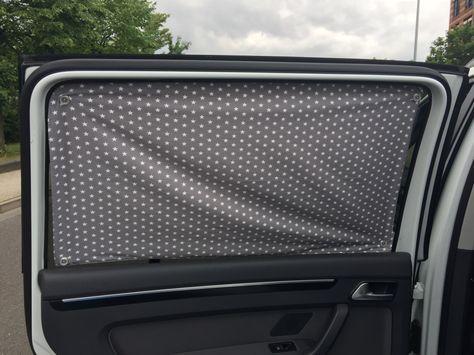 Nähanleitung Sonnenschutz fürs Auto nähen Auto