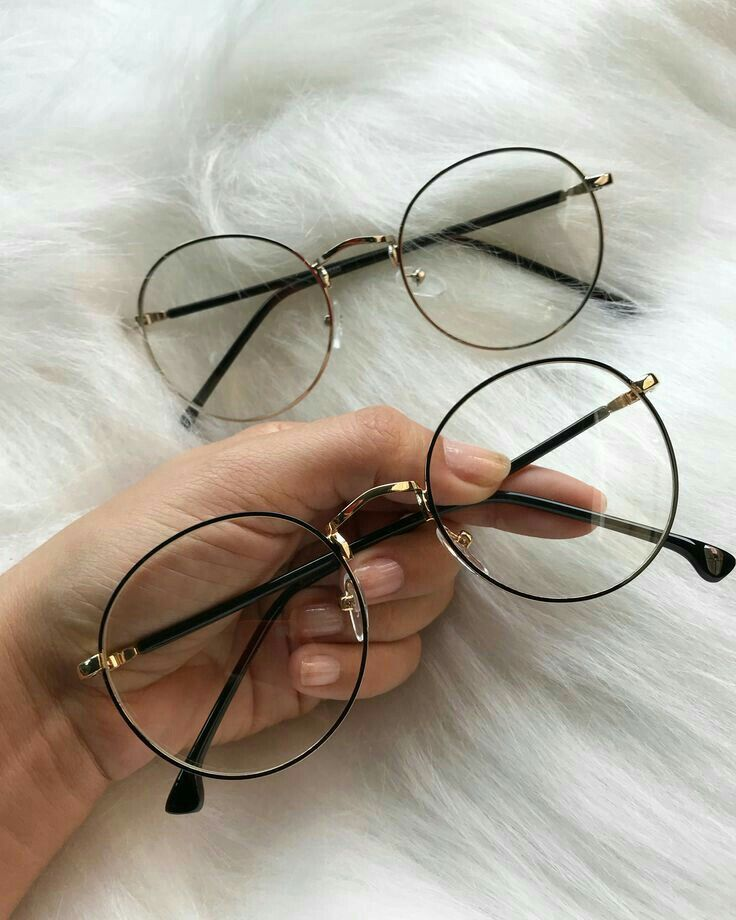 f4a06f14ecbe4 itGirl Shop KOREAN STYLE CLEAR ROUND TRANSPARENT GLASSES METALLIC FRAME  Aesthetic Apparel