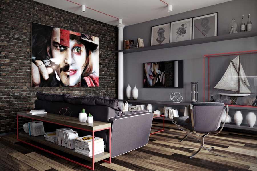أفخم تصاميم ديكور غرف جلوس وغرف معيشة ونصائح هامة لديكور منزلك ديكورات أرابيا In 2020 Living Room Grey Living Room Red Accent Walls In Living Room