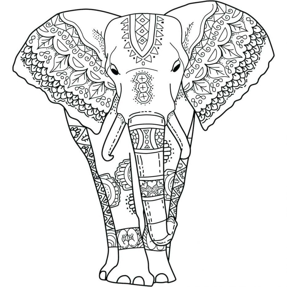 Baby Elephant Coloring Pages Cute Pictures To Color Picture Animal ...