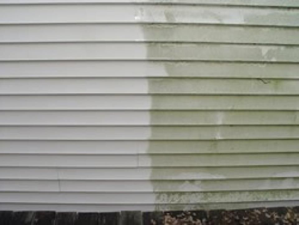 Mold Amp Mildew Removal Off Vinyl Siding Ck Out More Pics
