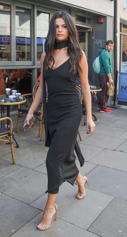 Fashion style girl 2018 dress black