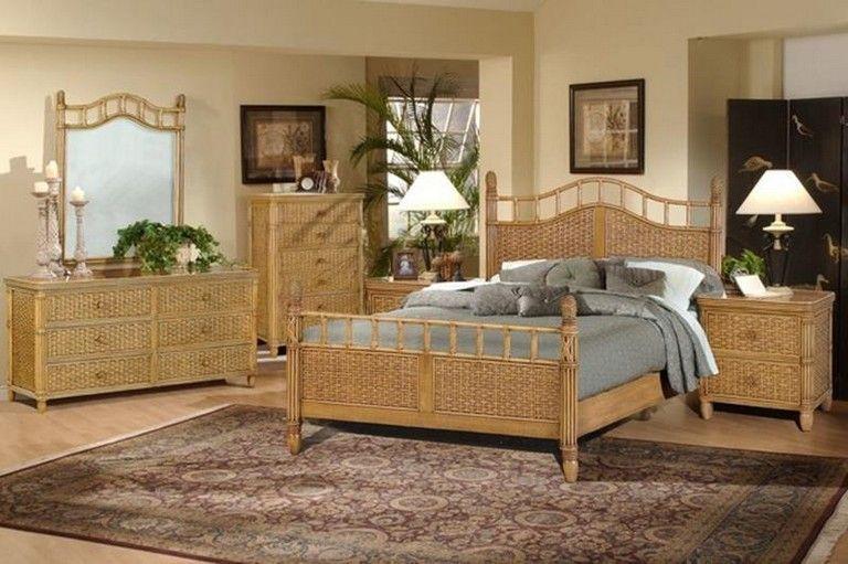 30 Luxury Beach Style Bedroom Furniture Ideas Bedroomdecor Bedroomdesign Rattan Bedroom Furniture White Wicker Bedroom Furniture Large Living Room Furniture