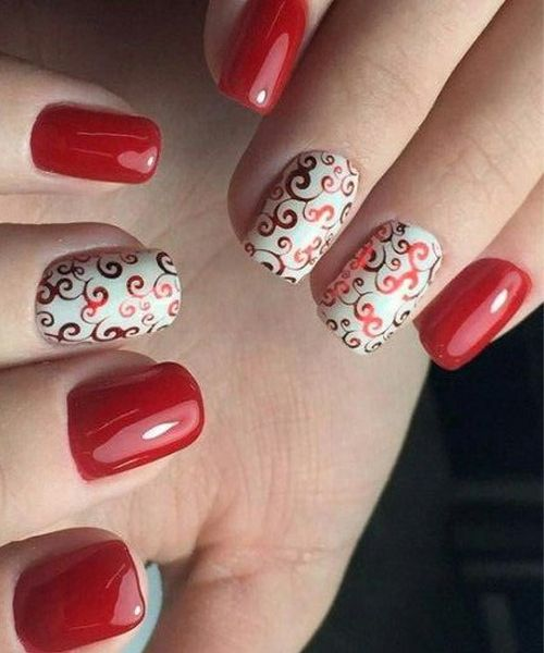 Top 30 red hot nail art designs for prom hot nails manicure and top 30 red hot nail art designs for prom prinsesfo Choice Image