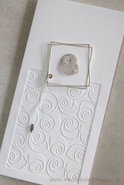 fast ganz in wei ist heute meine karte hier habe ich zun chst einen rahmen in der grundkarte. Black Bedroom Furniture Sets. Home Design Ideas