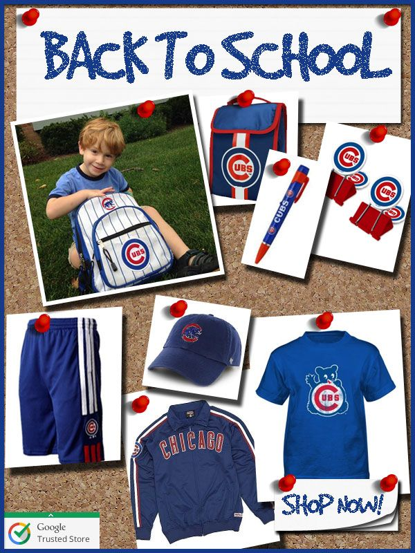 Going Back to School...Cubs Style? (Discount Coupon Inside