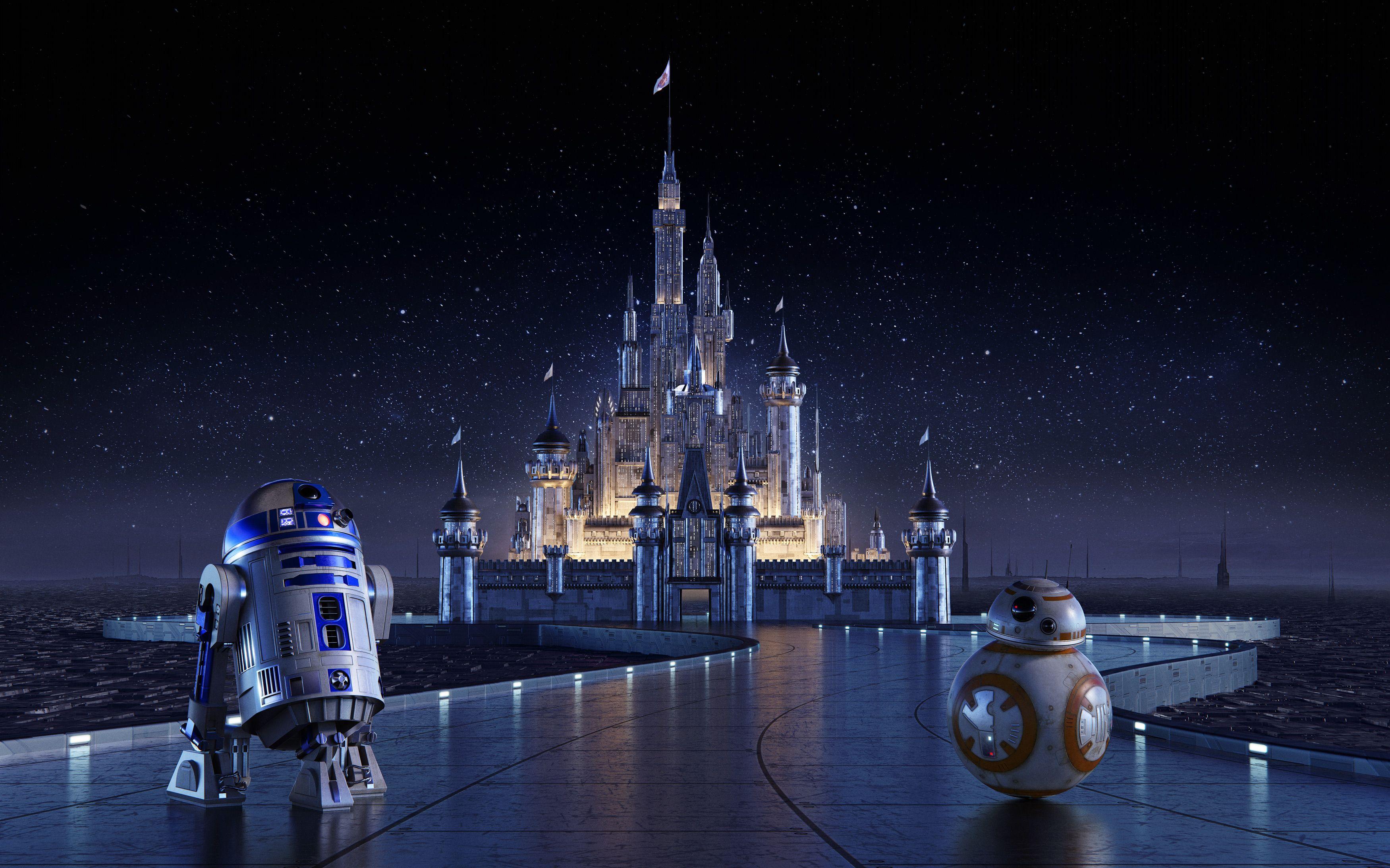 Disney Castle Wallpaper Hd Resolution Star Wars Wallpaper Star Wars Background Disney Star Wars