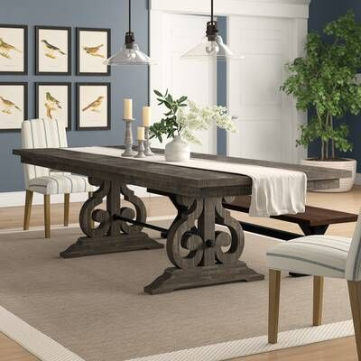 Filkins Extendable Dining Table Extendable Dining Table Wood Dining Table