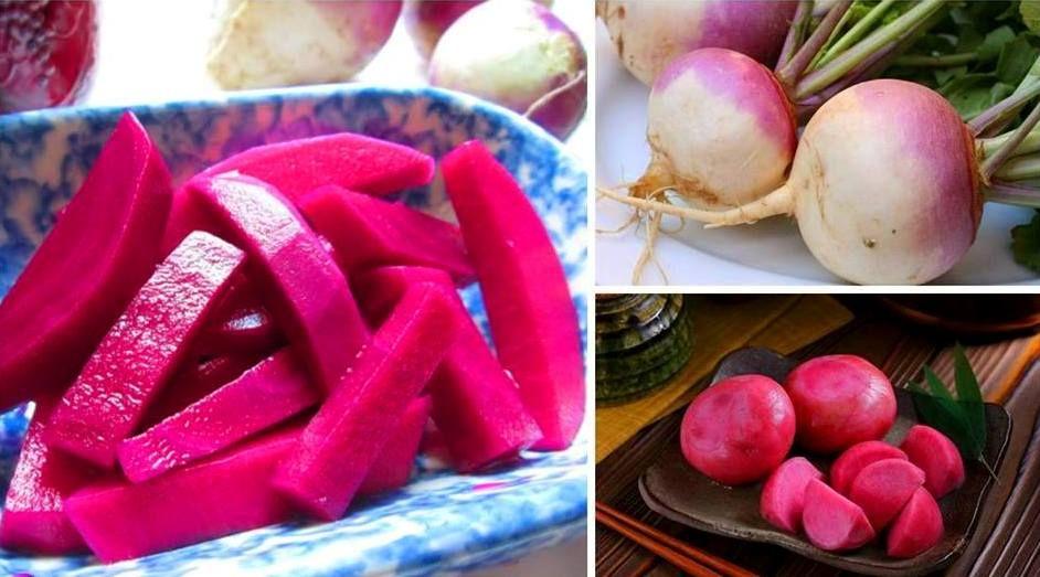 طريقة عمل مخلل اللفت الابيض طريقة Recipe Vegetables Pickles Food