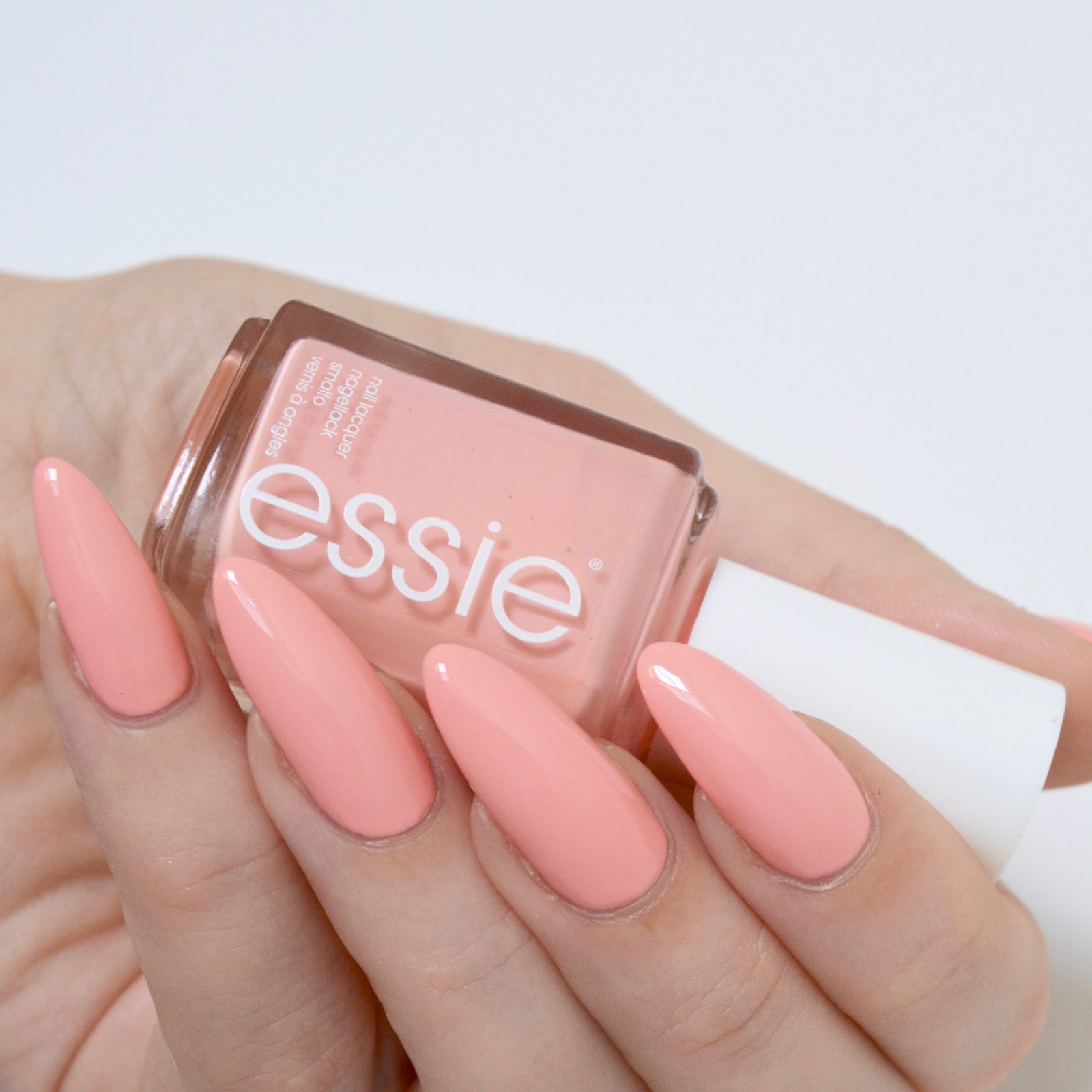 essie Spring 2017 \'Excuse Me Sur\' - a beautiful peachy pink creme ...