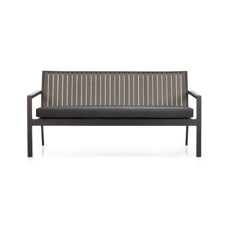 Charcoal Sunbrella Sofa Cushion