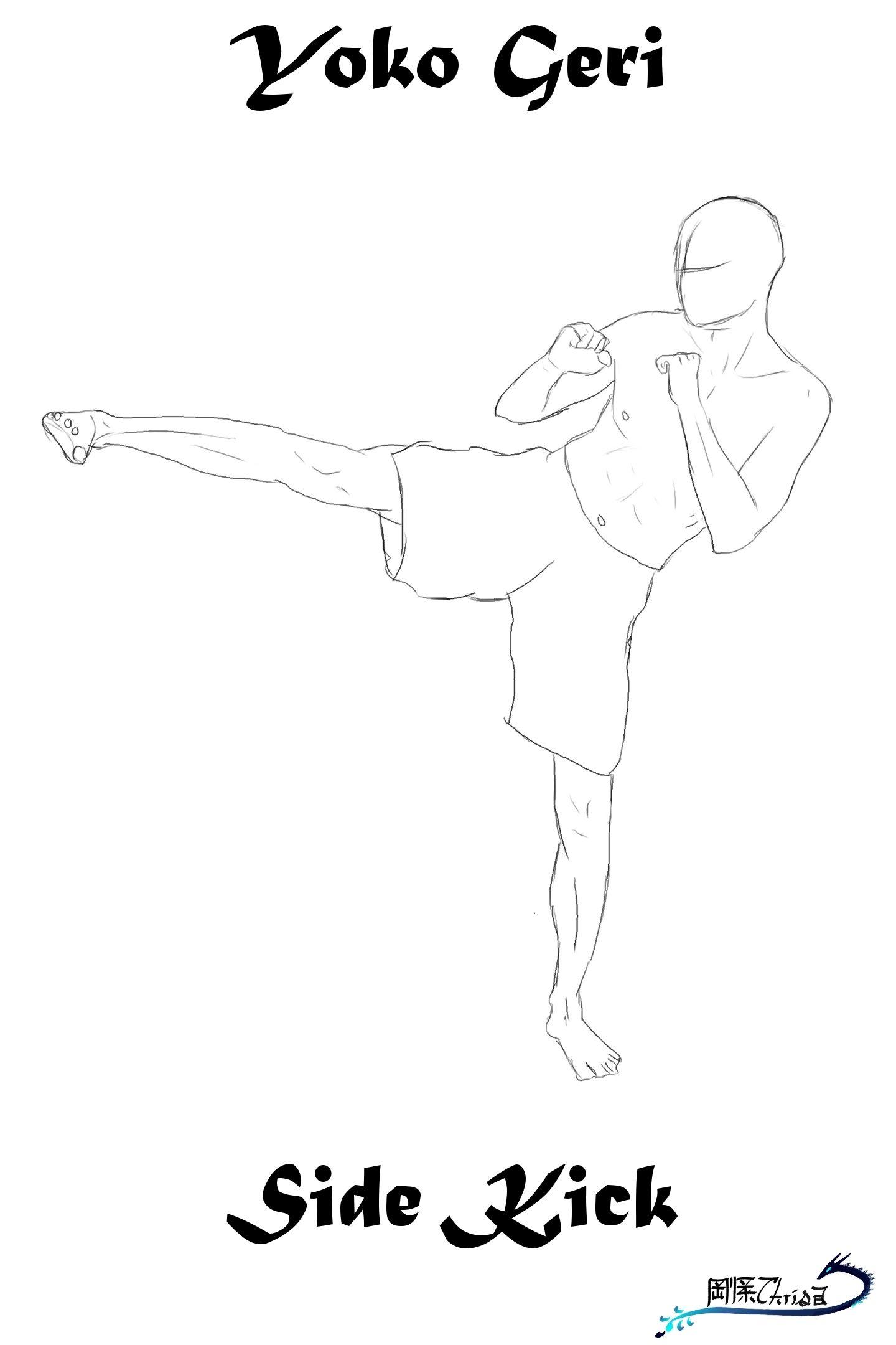 stickman taekwondo cindi boyes douglas haha taekwondo karate side kick