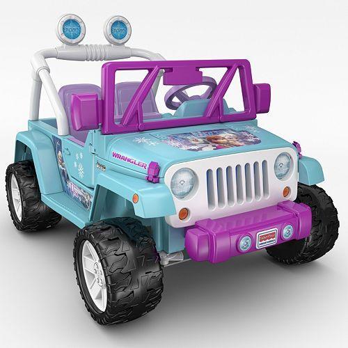 Disney S Frozen Power Wheels Jeep Wrangler By Fisher Price Power