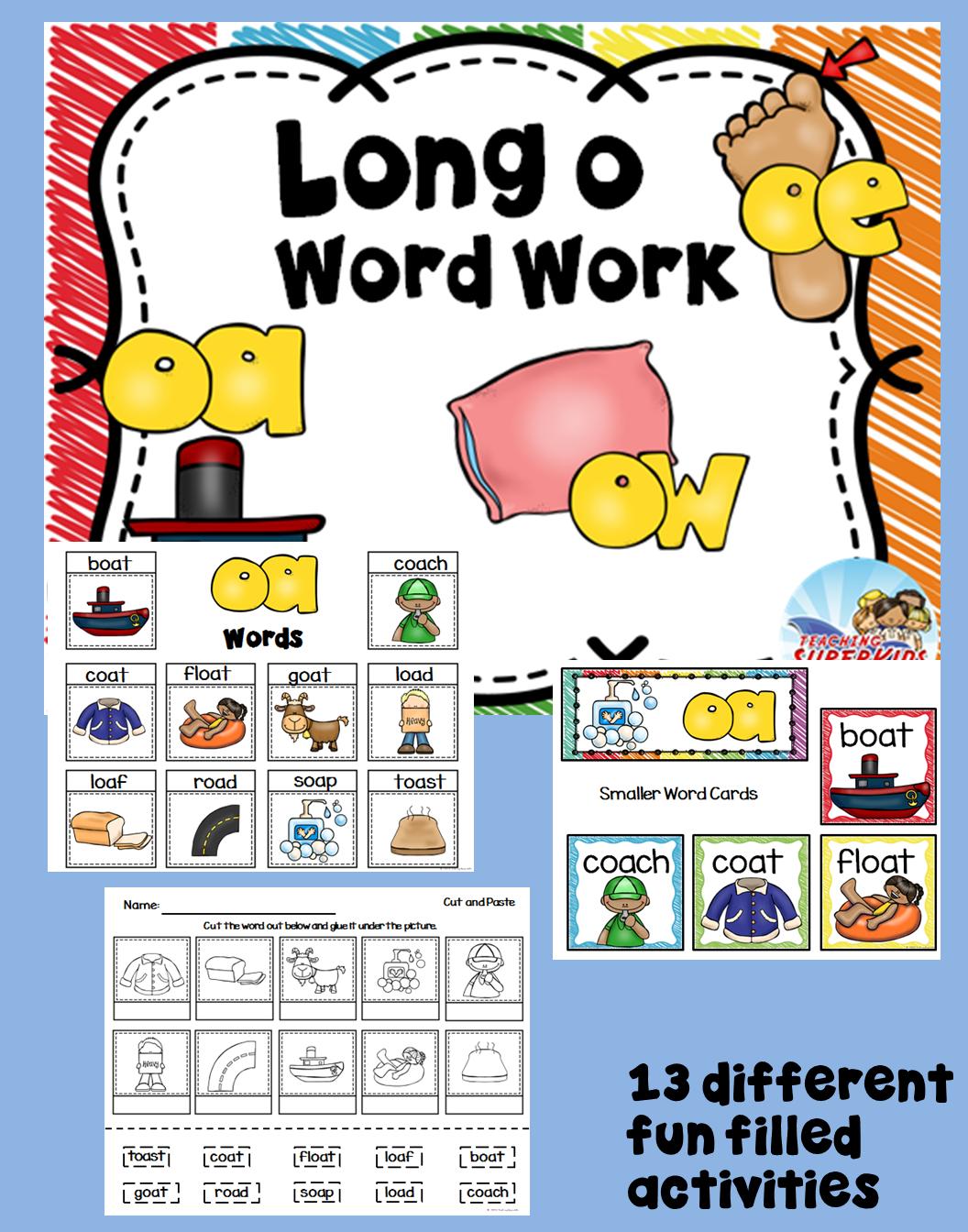 Long O Word Families