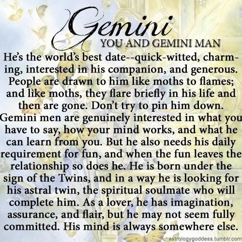 Useful compatibility of gemini man and scorpio woman with you