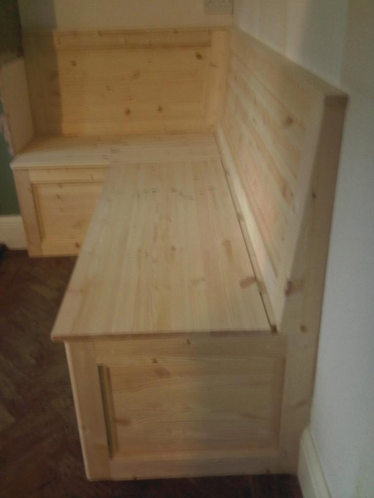 Solid Wood Built In Bench Built In Corne Built In