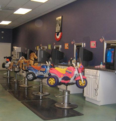 Salon Decor Child Friendly Way Too Cool For School Kids Hair Salon Hair Salon Kids Salon