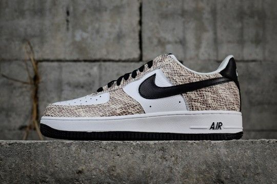 """differently 19dfd 25f42 Nike Air Force1 Low """"Cocoa Snake"""" 845053-104 