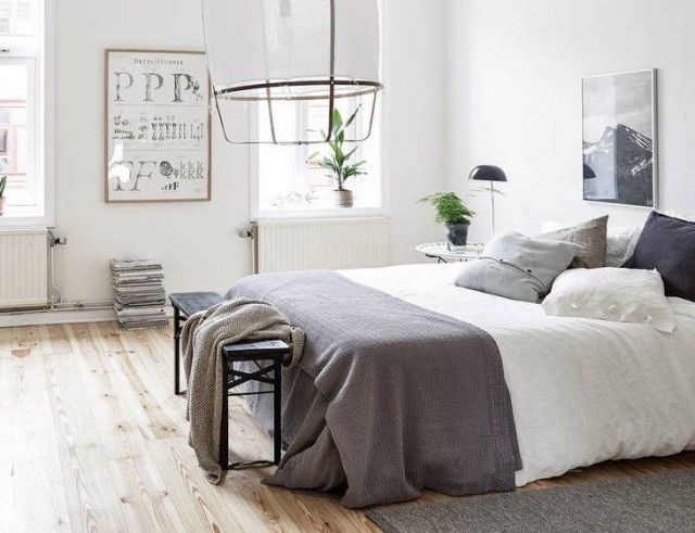 10 chambres aux teintes neutres Bedrooms, Room and Bed room