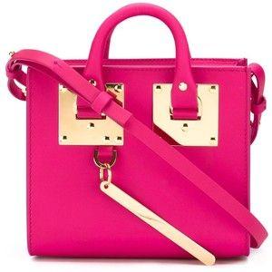 Sophie Hulme mini box 'Albion' crossbody bag