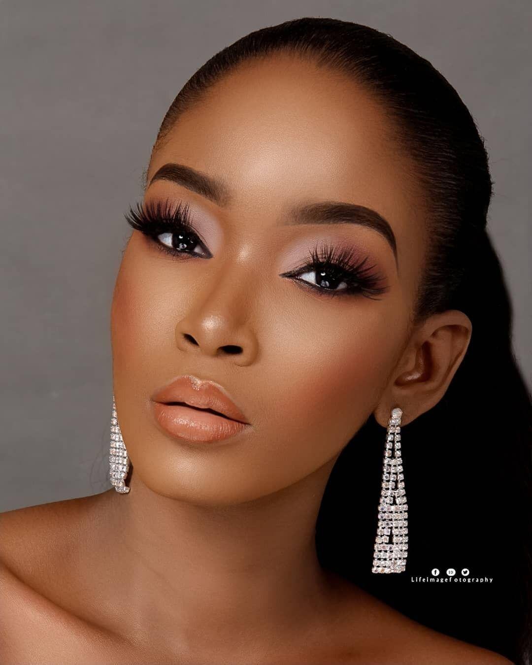 2019 Beautiful Makeup Styles For Black Women Makeup Makeup For
