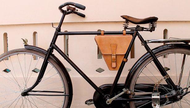Etiqueta Acento De Cuero - Bicicleta De Amsterdam Por Vida Vida VF0IR9MZ4