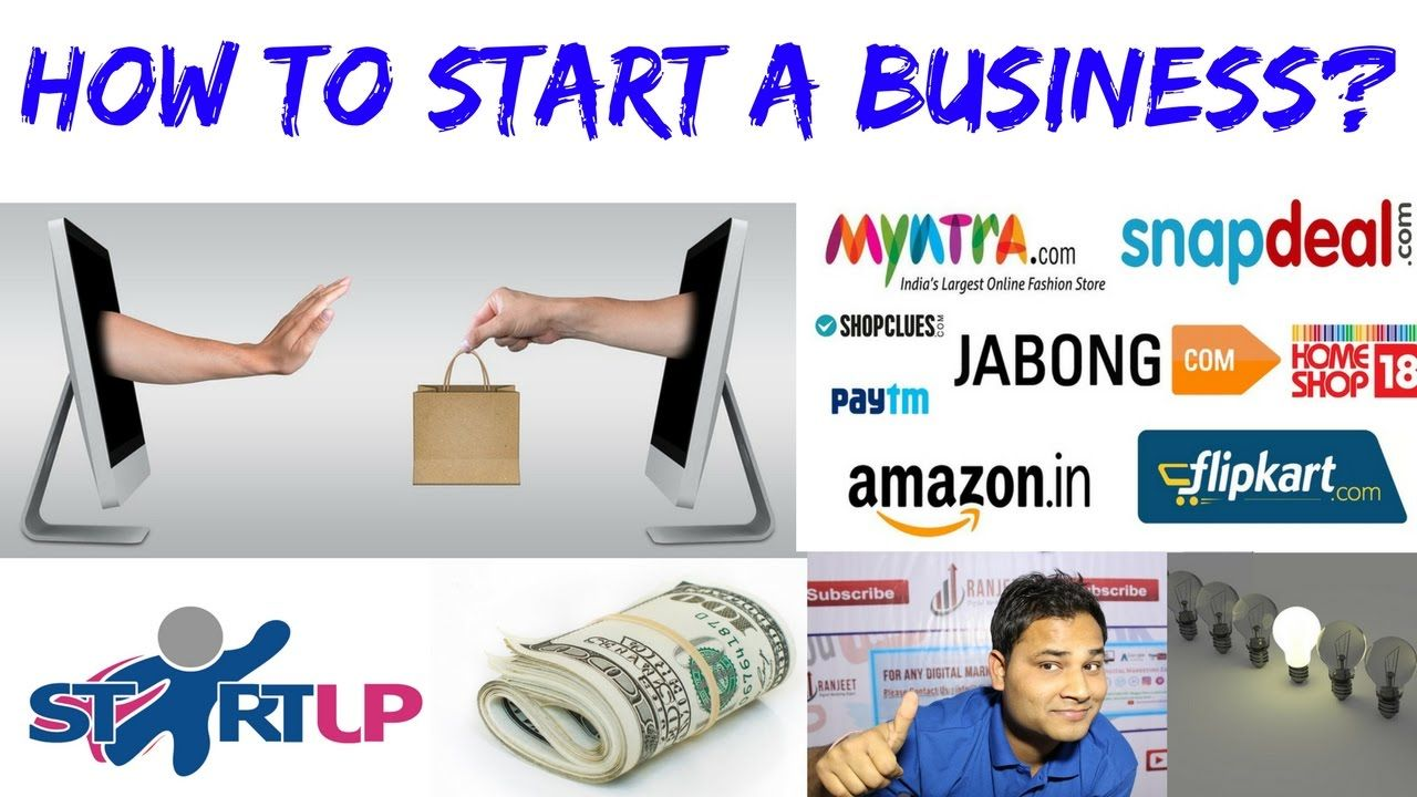 How to start online business in india How to start a