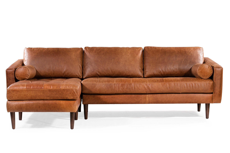 Napa Left Facing Sectional Sofa Sectional Sofa Sectional Leather Sofa
