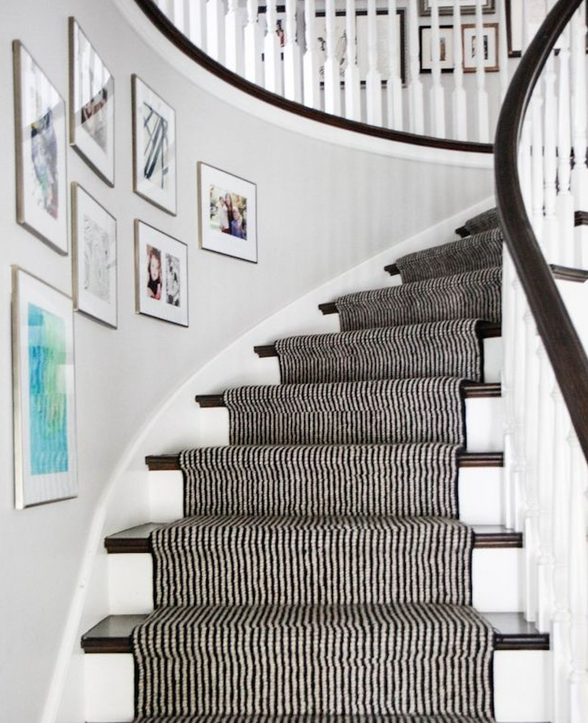 28 Best Stairway Decorating Ideas And Designs For 2020: Stair Runners: 6 Of Our Favorite Ways To Modernize Your